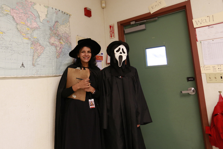 Happy halloween students