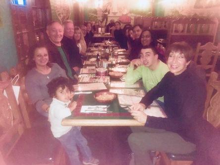 Spanish class family dinner :)