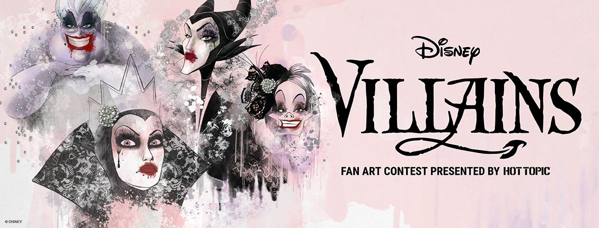 Disney Villains Fan Art Contest