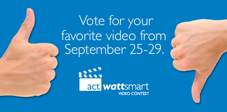 Act wattsmart Video Contest 2017