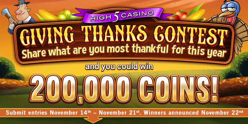 H5C's Giving Thanks Contest