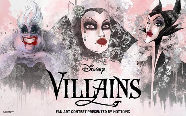 f1c09a02d29fe Disney Villains Fan Art Contest