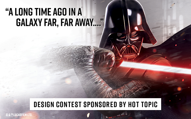 Design Contest Sponsored by Hot Topic