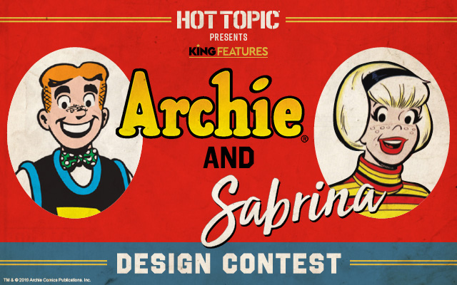 Archie and Sabrina Design Contest Banner