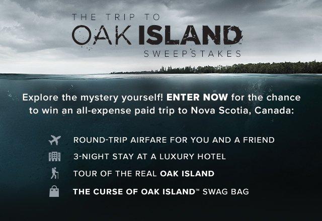 trip to oak island sweepstakes the trip to oak island sweepstakes 8220