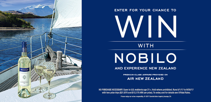 Nobilo New Zealand Sweepstakes