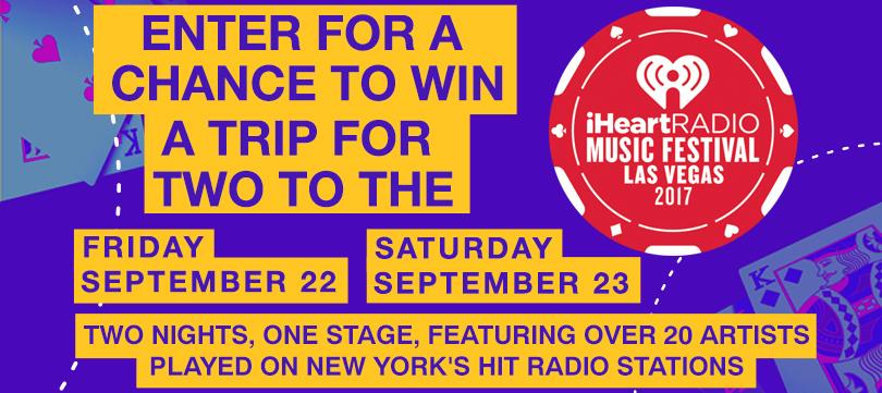 iHeartRadio Music Festival Flyaway Sweepstakes
