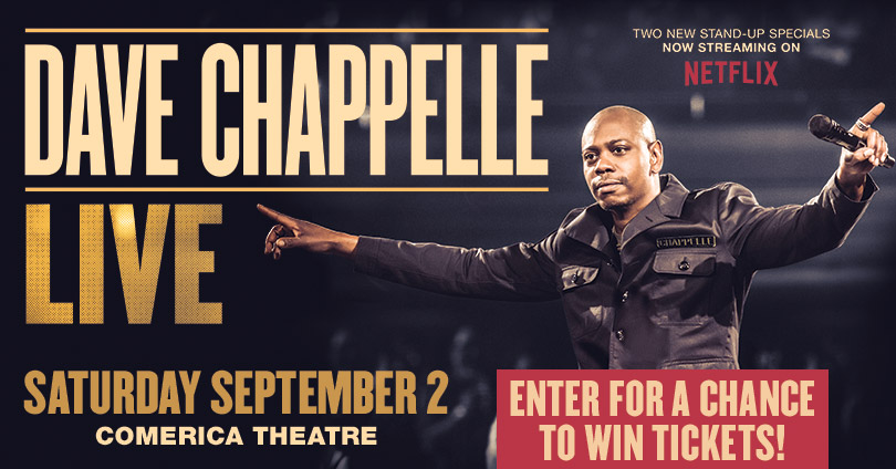 Dave Chappelle Giveaway