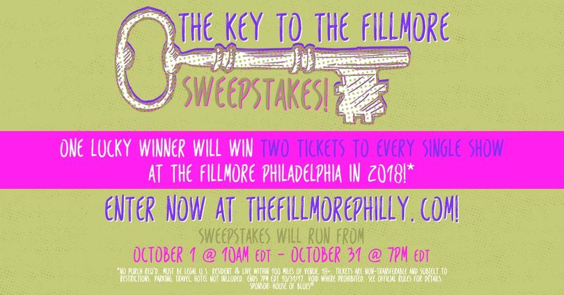 The Key to The Fillmore Sweepstakes