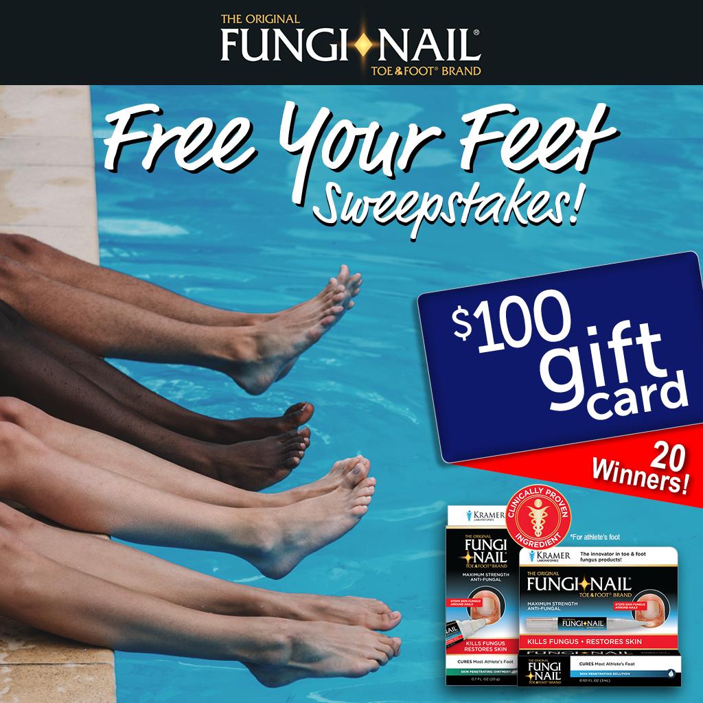 Fungi-Nail Free Your Feet Sweepstakes