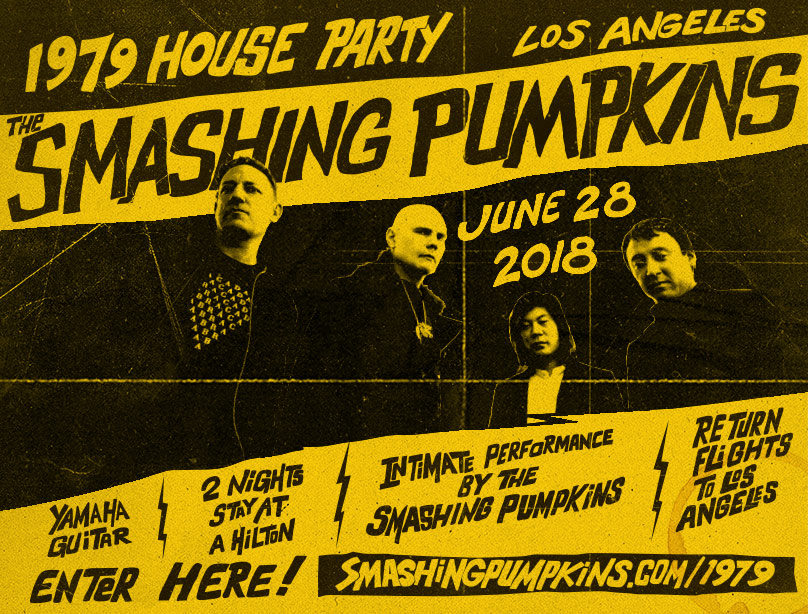 The Smashing Pumpkins 1979 House Party Sweepstakes