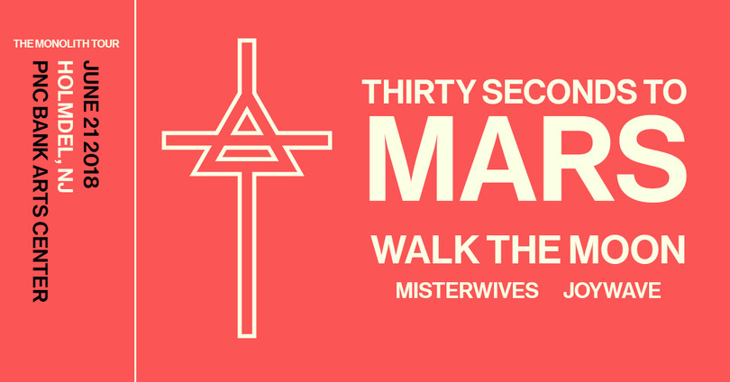 Thirty Seconds To Mars Ticket NJ Giveaway